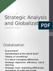 Strategic Analysis and Globalisation