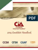 Candidate Handbook CIA