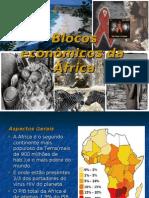 Blocos Econômicos da àfrica e da Europa