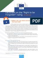 RTBF Factsheet
