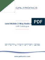 Galtronics 2 way Radio Antennas (LMR)