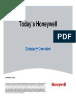 Pezentare Honeywell Jan2014