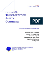 Short Final Report PK-IUA