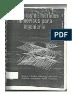 Elementos de Metodos Numericos Para Ingenieria