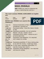English Modals