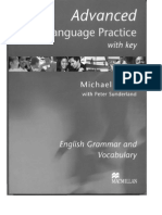 38553512 Advanced Language Practice With Key Michael Vince