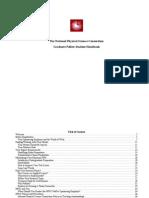 Grad Student Handbook