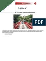 JAPN 1001 Lesson01