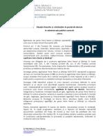 DESFB_2014 ANALIZA Femei-barbati Pozitii Decizie Adm Publica