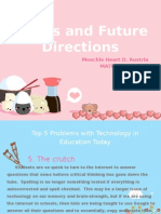 Issues and future directions