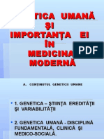 Curs 1 MG Introducere Si Structura ADN (1)