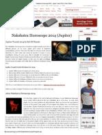 Nakshatra Horoscope 2014..