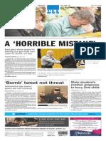 Asbury Park Press front page Friday, Feb. 6 2015