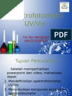 Spektrometri UV