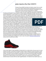 Nike Air Jordan Captain America Pas Cher UO5573