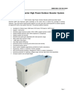 High Power Booster Specifications -1800-Outdoor