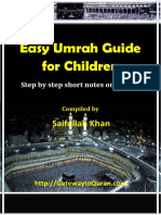 Easy Umrah Guide for Children