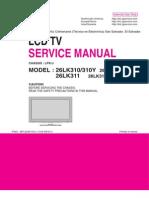 LG 26LK310 (Chassis LP91J) Manual de Servicio LCD