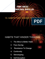l7 - Habits That Hinder Thinking