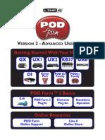 POD Farm 2 Advanced User Guide - English ( Rev B )