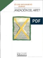 Deshumanizacion Del Arte- Luis Pardo