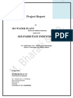 Final Project Report on Ro Water Plant Final