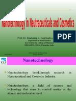 Nanotechnology in Neu Trace Utica Ls and Cosmetics