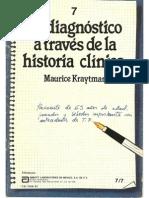 El Diagnóstico a Través de La Historia Clínica - Maurice Kraytman
