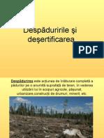 XIdespaduririle-desertificarea