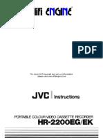 Jvc Hr-2200eg -Deutch