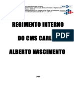 Regimento Interno CMS CAN 2015