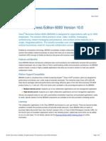 BRO-C007-0005-140326-Cisco Business Edition 6000 V10.0