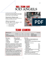 Kill Team List - Blood Angels v3.0