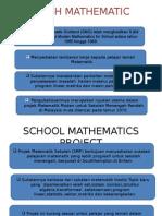 Scottish Mathematic Groups