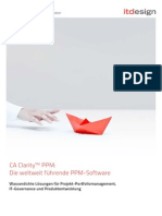 CA Clarity PPM v13 Funktionen Itdesign