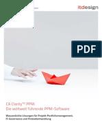 CA Clarity PPM v13 Funktionen Itdesign