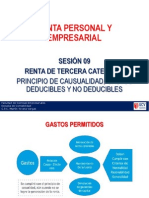 PPT_Sesion_09 Deducible y No Gastos Casualidad