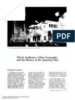 Gomery - Movie Audiences, Urban Geography