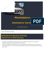 Ambulance Survey Findings