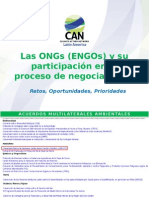 ONGs en El Proceso de Negociaciones - Lina Dabbagh CAN 29Oct14