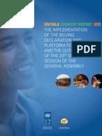 Beijing+20 Report Eritrea