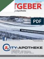 Ratgeber aus Ihrer City-Apotheke – Februar 2015