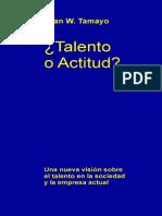 Talento o Actitud