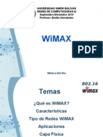 WiMax Redes3