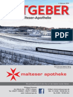 Ratgeber aus Ihrer Malteser-Apotheke – Februar 2015