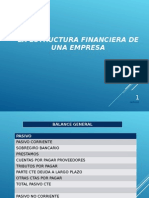 estructura Financiera -