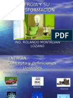 Energía y Su Transformación