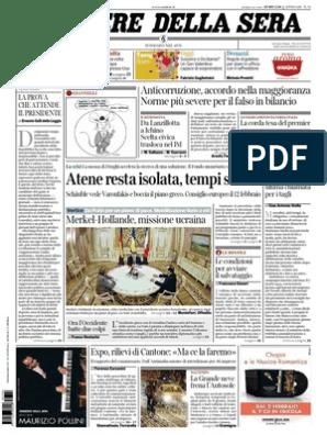 Corriere Della Sera 26 02 2015