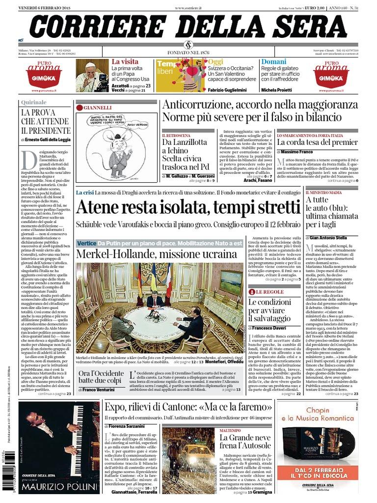 Corriere della Sera - 26 02 2015 5fd5dcd3255d