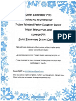 Father Daughter Dance Invitation